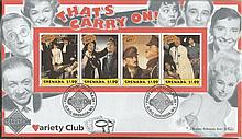 Carry On Signed Cover Collection. Consists of a 1998 Carry On Jack cover wi
