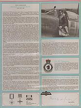 - Signature and Canadian Fighter Ace profile of Wing Commander Hugh Godefr