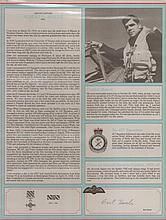 - Signature and Canadian Fighter Ace profile of Group Captain Albert Houle