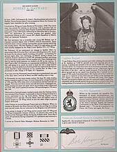 - Signature and Canadian Fighter Ace profile ofSquadron Leader Robert Hay