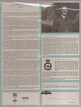 - Signature and Canadian Fighter Ace profile of Squadron Leader Irving 'Ha