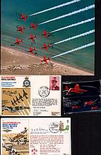 Red Arrows Memorabilia Collection. Lovely lot consisting of 8x10 Red Arrows