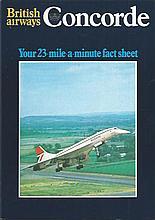 Concorde Memorabilia Collection 2. Nice lot consisting of Supersonic Flight