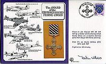 Vulcan Bomber pilot: RAF Medalsseries cover dedicated to the Distinguished