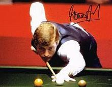 Steve Davis Snooker Legend Signed 10 X 8 photo Good condition. All signed i