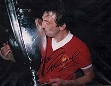 Alan Kennedy autographed football photo. Stunning high quality colour 16x12