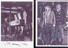 "- -Oliver Twist. A pair of 7x5"" pictures by Mark Lester and John Howard Da"