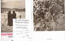 Signature of celebratedphotojournalist George Rodger (1908-1995). 1987ins