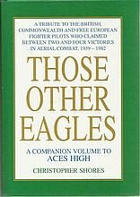 WWII Aces autographed large book 2. Those Other Eagles – a tribute to the B