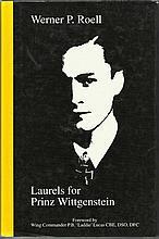 WWII Veterans signed book. Laurels for Prinz Wittgenstein by Werner P Roell