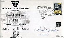 PRESIDENT OF ISRAEL: JS50/45/2 Endof the Extermination camps commemorative