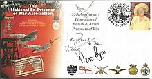 - Vera Lynn, Ian Fraser VC & Earl Haig, former Colditz POW signed 2000 Ex-