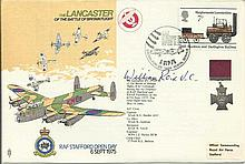 Bill Reid VC signed Lancasters of the Battle of Britain Memorial Flight fl