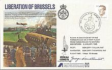 Georges d Ouetremont ES35c Liberation of Brussels Signed by Georges d Ouetr
