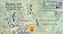 Erich Steinhilper Luftwaffe ace signed COF33 63rd Ann of The Beginning of t
