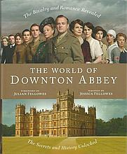 Cast Signed Downton Abbey book. Hardback edition of The World Of Downton Ab