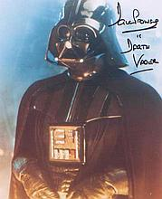 "- Star Wars. 10x8 picture of Dave Prowse in character as ""Darth Vader. Goo"