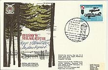 WWII Veteran signed cover. 1973 Escape from Stalag Luft III with an unident