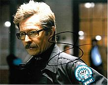 Gary Oldman signed 8x10 Colour Photo Of Gary From