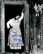 Oprah Winfrey signed 8x10 B/W Photo Of Oprah From