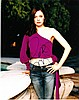 Rose McGowan signed 8x10 Colour Photo Of Rose From