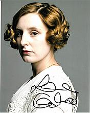 Laura Carmichael signed 8x10 Colour Photo Of Laura