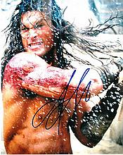 Jason Momoa signed 8x10 Colour Photo Of Jason From