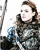 Rose Leslie signed 8x10 Colour Photo Of Rose From