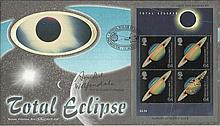 Prof Sir Arnold Wolfendale signed Total Eclipse Benham BLCS164b FDC. Good c