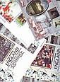 Football collection four FDCs, 2 x Benham 40th