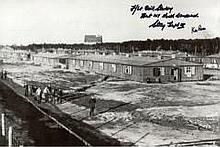 The Great Escape (Rees & Starkey): 8x12 inch photo of the North Compound of