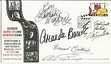 Carry On multi signed 2008 Carry on FDC signed by Barbara Windsor, Amanda B