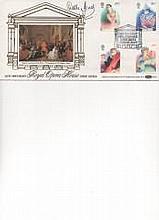 Della Jones Mezzo Soprano Signed 250th Anniversary Royal Opera House Benham