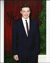 Laurie Duncan plays Callum Kane in Hollyoaks signed 10x8 colour photo. £2 n