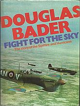 Fight for the Sky hard back book with bookplate signed by four Battle of Br