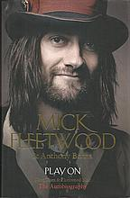 Mick Fleetwood signed hard back book Play On. Good Condition
