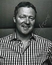 Rory Bremner 20cm x 25cm, 10 x 8 inches photograph clearly signed by Rory B
