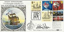 Benham 1996 BLCS74 Europa FDC, carried on Brigantine STS Soren Larsen Good