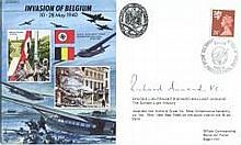Richard Annand VC: Commemorative envelope, dedicated to the Invasion of Bel