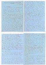 Warrant Officer Clive Hilken Superb 4-page informative handwritten letter f