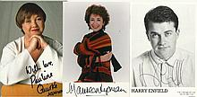Entertainment collection seven 6 x 4 photos Harry Enfield, Maureen Lipman,