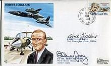 Blackbird SR71 Pilot: Test Pilots series cover dedicated to and signed by f