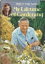 Percy Thrower signed hardback book My Lifetime of Gardening. Good Condition