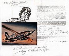 Commander Guy Bordelon Good signature and career details of Korean & Vietna