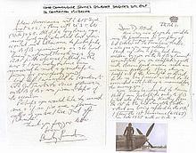 Wing Commander James Gilbert Sanders DFC Excellent informative content 2-pa