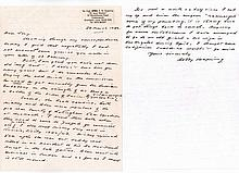 Group Captain R.W. 'Bobby' Oxspring Excellent content handwritten letter fr