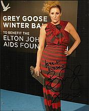 Bronagh Waugh plays Cheryl Brady in Hollyoaks signed colour 10x8 photo. £2