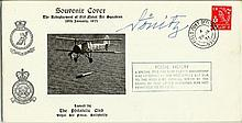Karl Donitz signed Souvenir cover the redeployment of 819 Nabal air squadro