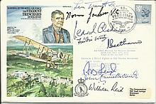 Seven Victoria Cross winners Scarce 1978 Historic Aviator cover dedicated t