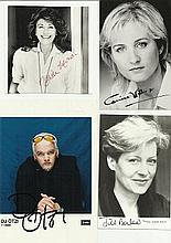 TV Film Collection includes Nanette Newman signed small b/w photo. Corrine
